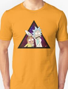 Rick and morty space v6. Unisex T-Shirt