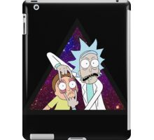 Rick and morty space v6. iPad Case/Skin
