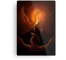 Dragon Born, Volcano Dragon Metal Print