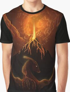 Dragon Born, Volcano Dragon Graphic T-Shirt