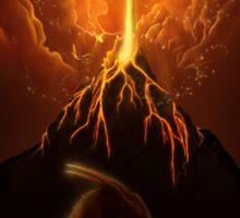 Dragon Born, Volcano Dragon Sticker