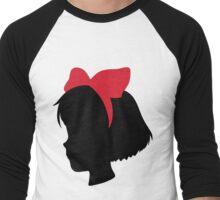 Kiki Silhouette Men's Baseball ¾ T-Shirt