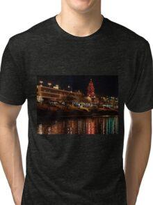 Plaza Lights Tri-blend T-Shirt