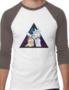 Rick and morty space v7. Men's Baseball ¾ T-Shirt