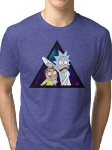 Rick and morty space v7. Tri-blend T-Shirt