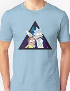 Rick and morty space v7. Unisex T-Shirt