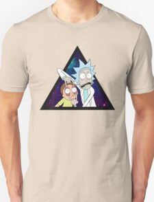 Rick and morty space v7. T-Shirt
