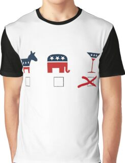 Cocktail Party Graphic T-Shirt