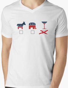 Cocktail Party Mens V-Neck T-Shirt