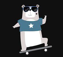 Cute Cartoon Animals Skateboarding Bear Unisex T-Shirt