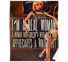 A Real Woman Poster