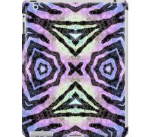 Blue Purple Tribal ZigZag Abstract iPad Case/Skin
