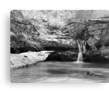 Upper Falls - Hocking River Canvas Print