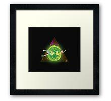 Wormhole!! 2. Framed Print