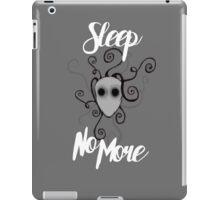 Sleep No More iPad Case/Skin