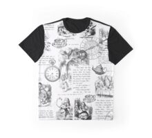 Alice - Pages Graphic T-Shirt