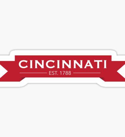 Cincinnati Sticker