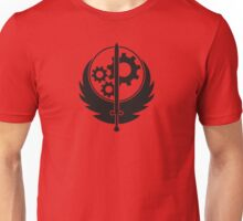Brotherhood of Steel Emblem (Black) Unisex T-Shirt
