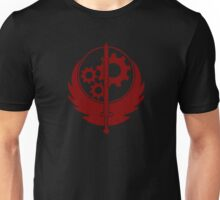 Brotherhood of Steel Emblem (Red) Unisex T-Shirt