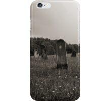 Hospital Cemetery #2 iPhone Case/Skin