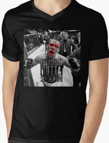 Straight Outta stockton bloody Mens V-Neck T-Shirt