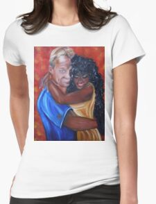 Spicy - Interracial Lovers Series Womens Fitted T-Shirt