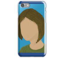 Faceless girl iPhone Case/Skin