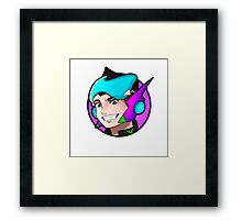 ExeonInfinite Avatar - Inspired by Megaman / Neon Genesis Evangelion Framed Print