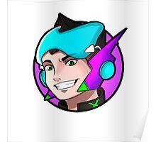 ExeonInfinite Avatar - Inspired by Megaman / Neon Genesis Evangelion Poster