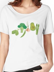 Green Veggies Women's Relaxed Fit T-Shirt