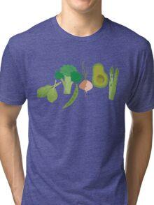 Green Veggies Tri-blend T-Shirt