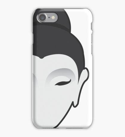 Minimal Buddha iPhone Case/Skin