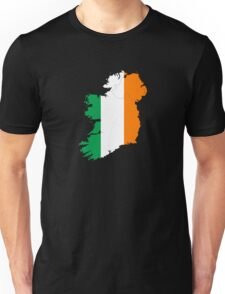 Ireland Flag Country Stickers Unisex T-Shirt
