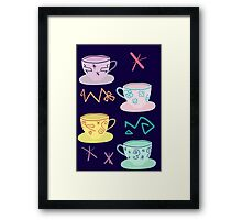 Alice's Mad Tea Party Framed Print