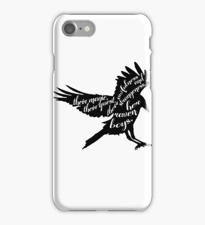 her raven boys. iPhone Case/Skin