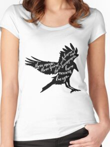 her raven boys. Women's Fitted Scoop T-Shirt