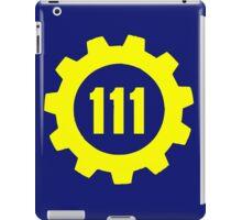 Vault 111 - Emblem iPad Case/Skin