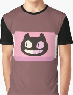 Cookie Cat Package Graphic T-Shirt