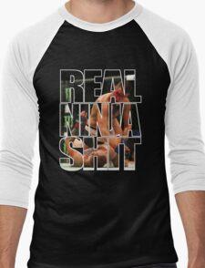 Real ninja shit Men's Baseball ¾ T-Shirt