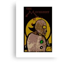 The Mechanist (Full Cover 2) Canvas Print