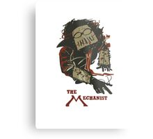 The Mechanist  - Fallout 4 Metal Print