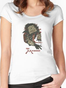 The Mechanist  - Fallout 4 Women's Fitted Scoop T-Shirt