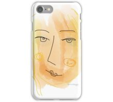 Soft painting 040 iPhone Case/Skin