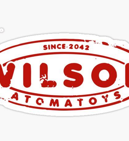 Wilson Atomatoys - Fallout 4 Sticker