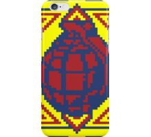 Grenade Pattern [Red/Yellow] iPhone Case/Skin