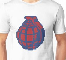 Grenade Pattern [Red/Yellow] Unisex T-Shirt