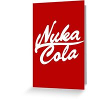 Nuka Cola - Original! Greeting Card