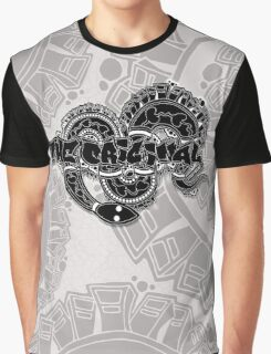 The Original Street Wear – Snake in the City B&W Graphic T-Shirt