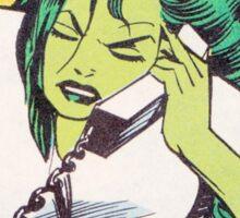 She Hulk Lawyering Sticker