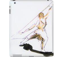 Figure Sketch iPad Case/Skin